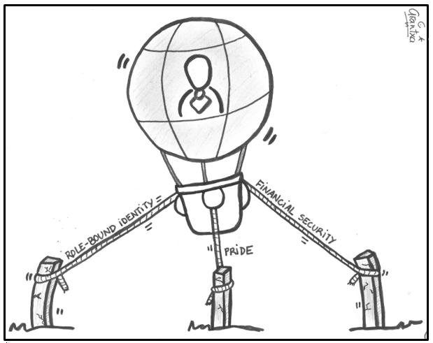 Founder's Syndrome Illustration 2. Arantxa Mandiola Lopez. CC By 4.0.