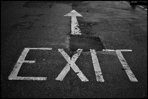 Exit by Craig Sunter via Flickr.