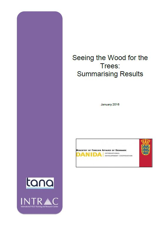 Summarising results cover