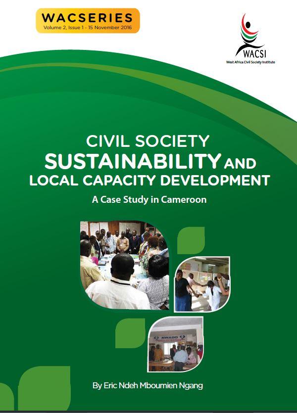 Civil society sustainability. Cameroon case study. WACSI 2017