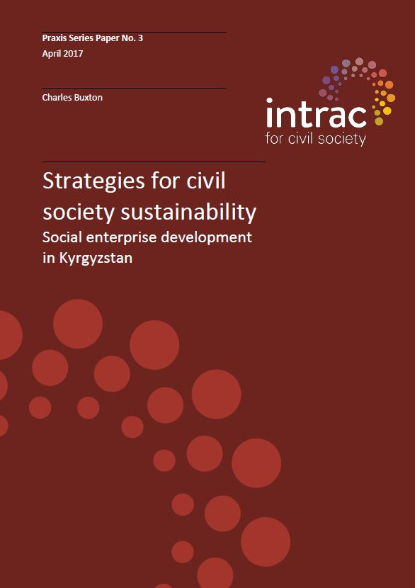 Praxis Series 3. Strategies for civil society sustainability cover